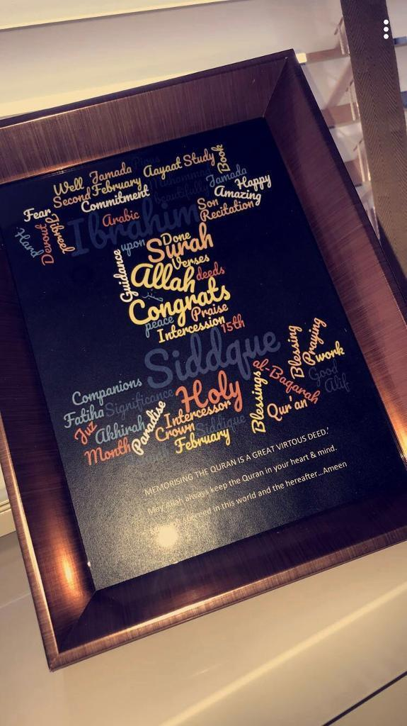 Brand new personalised frames