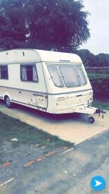 1993 Swift Challenger 4-5 Birthday caravan.