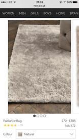 Next brand new radiance rug - 160cm x 230cm