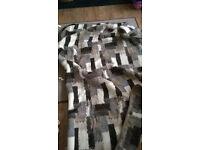 natural wool sheep blanket