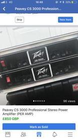 Peavey CS 3000 Amplifier