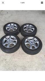 FORD FOCUS 195/60 15 4 STUD 6 SPOKE ALLOY
