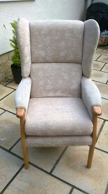 Lovely comfortable arm chair, very clean hardly used from non smoking no pets home