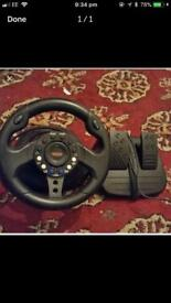 Racing handle for ps2