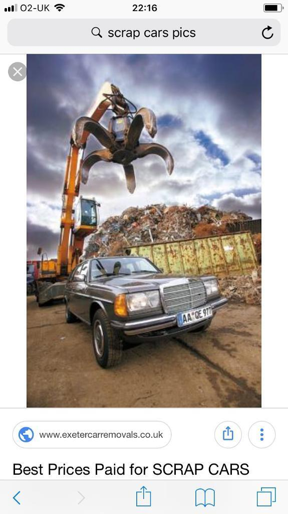 Scrap cars and vans wanted top prices paid | in Shotton Colliery ...