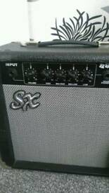 SX Bass Guitar And Amp