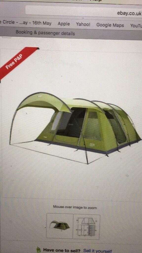 Vango Calder 600 Tent NEW ! & Vango Calder 600 Tent NEW !!!! | in Portslade East Sussex | Gumtree