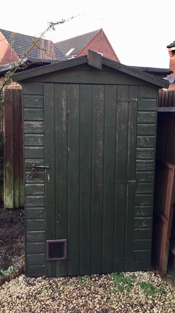 ***THIS IS SOLD***Garden Shed (dismantled) 6ft X