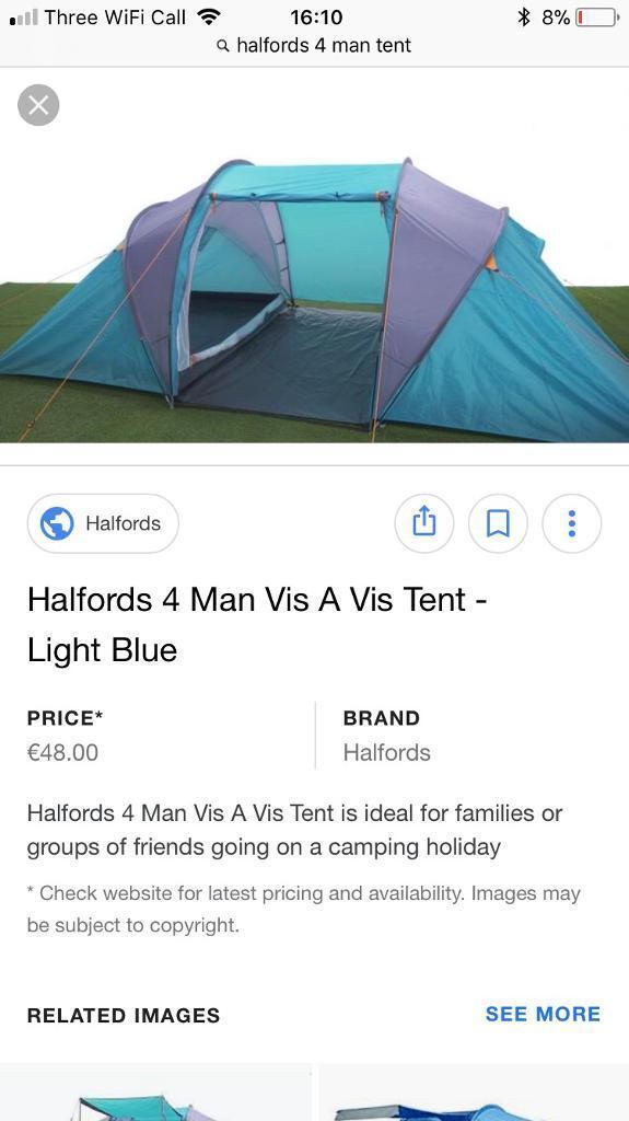 2 Man Dome Tent  sc 1 st  Best Tent 2018 & Tent Package Deals Halfords - Best Tent 2018