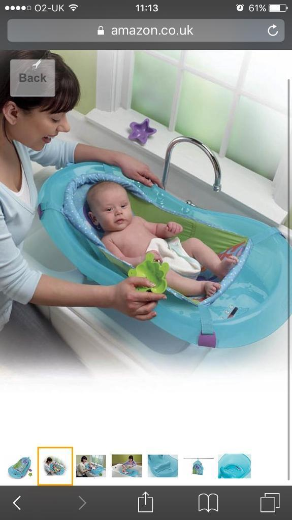 image 1 of 7 fisher price baby bath with hammock and bathtub seat suitable from      rh   gumtree