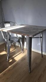 Industrial wood table & Nordkap Tipi Tent - unused - Condition as new. | in Beck Row ...