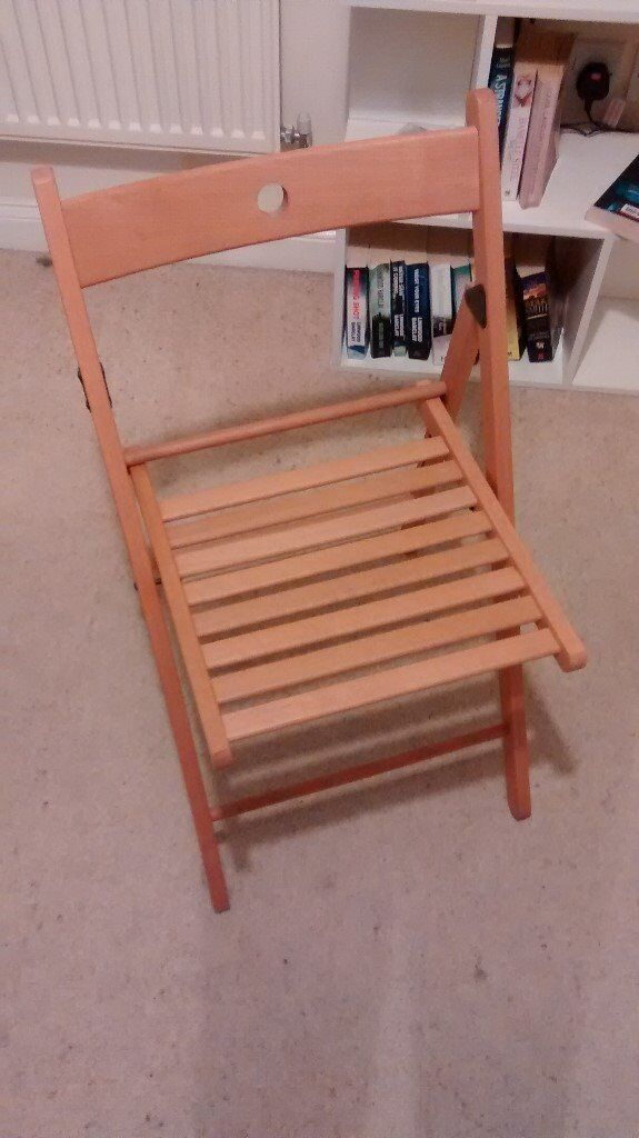 IKEA folding chair practically NEW AT LESS THAN 1/3 OF THE PRICE & IKEA folding chair: practically NEW AT LESS THAN 1/3 OF THE PRICE ...