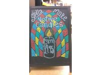 Chalkboard and Window Sign Writer - As Nature Intended (Retail) Part Time (TUES & WEDS)