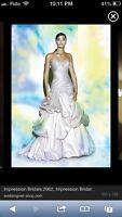 Impression bridal wedding gown