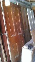 Antique doors interior and exterior