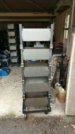 Steel Storage boxes with Wheel base units
