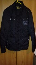 Mens size small cross hatch coat