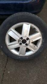 Renault Megane alloy wheel with tyre 205/55 R16
