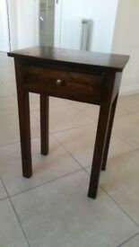 Hardwood Telephone Table