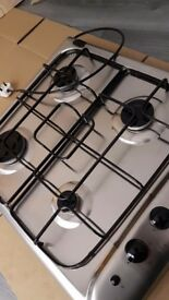 Indesit bargain nearly new hob top gas oven