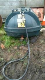 1200l titan diesel tank & nozzle kerosene fuel station