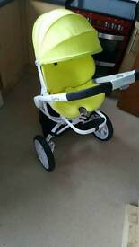 Quinny moodd travel system, stroller, buggy, Carrycot.