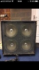 Custom Built Guitar Cabinet