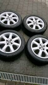 Winter alloy wheels and tyres. Genuine BMW Mini.