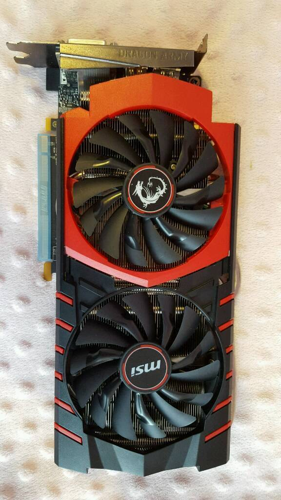 Nvidia GeForce Gtx970 Gaming 4G Graphic Video Card