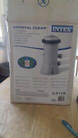 brand new filter pump