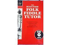 Scottish Folk Fiddle tutor with CD