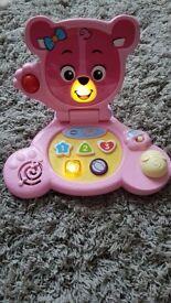 Vtech baby bear laptop for sale