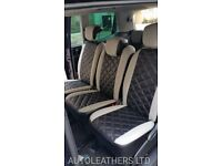 AUTOLEATHERS LTD CAR LEATHER SEAT COVERS FORD GALAXY VOLKSWAGEN SHARAN VAUXHALL ZAFIRA TOYOTA VERSO