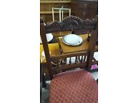 Solid Oak Dining Chair