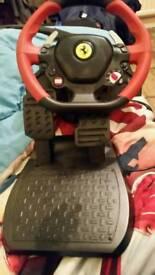 Ferrari 458 Spider Racing Wheel for Xbox one