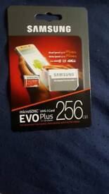 Samsung memory card 256 gb new