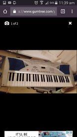Electric keyboard with 100 tone and 100 rhythm