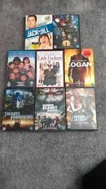 DVDs set of 8