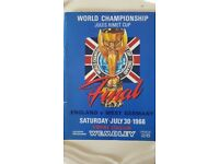1966 Original World Cup Programme