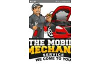 Mobile car/van mechanic , service , mot repair work , steering , suspension