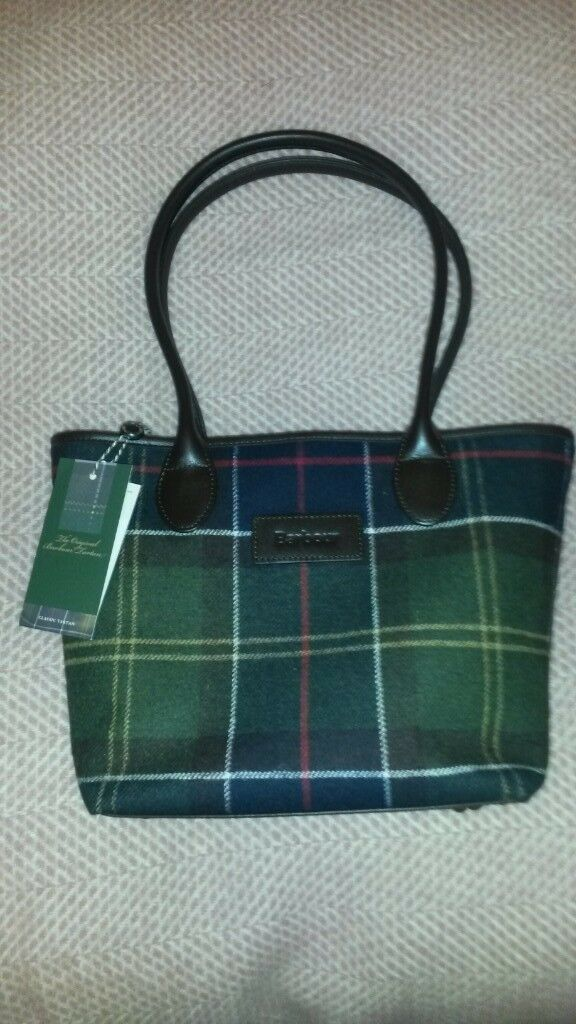 Bnwt Women S Barbour Dee Tartan Handbag Rrp 129