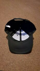 Black 6 Panel Adjustable Baseball Cap | New BNWT | One Size Only | Leeds | £4