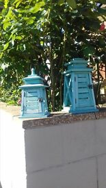 £10 for 3 garden hanging lanterns/ornaments