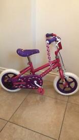 "Girls Disney princess 12"" bike brand new"