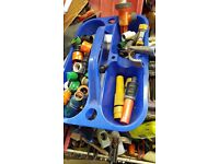 Box of hose pipe fitting ect