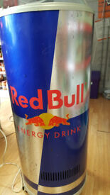 (Open to offer) Rare Limited Edition Shop Catering Red Bull Tubal Drink Chiller Cooler Fridge