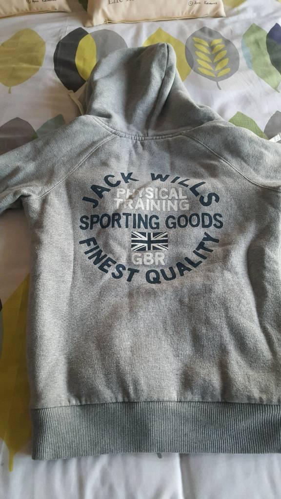 Jack wills grey hoody