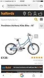 """Pendleton Ashbury Girls Bike 16"""" (Girls bicycle 16 inch)"""