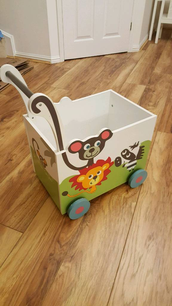 Verbaudet Wooden Toy Trolley