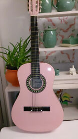 Pink Guitar by Herald
